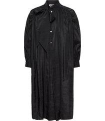 rise dress jurk knielengte zwart hope