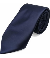 gravata concetto lisa seda azul marinho