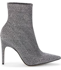 point-toe ankle heeled booties