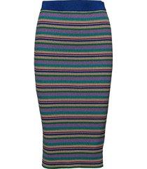 celia knälång kjol multi/mönstrad baum und pferdgarten