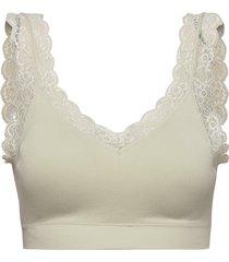 bra soft top eco modal emelie lingerie bras & tops soft bras grön lindex