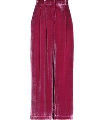 rosé a pois cropped pants
