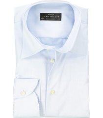 john miller hemd mouwlengte 7 lichtblauw tailored fit