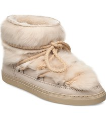inuikii sneaker toskana shoes boots ankle boots ankle boot - flat beige inuikii