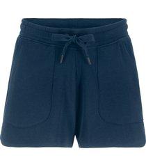 shorts in felpa con coulisse (blu) - bpc bonprix collection