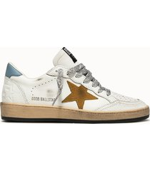 golden goose deluxe brand sneakers ball star colore bianco