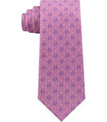 tommy hilfiger men's derby classic horseshoe silk tie