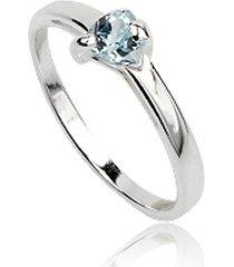 dames ring 925 zilver blue topaz edelsteen