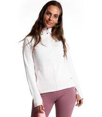chaqueta hoodie jacket iii rosa body & soul
