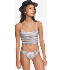 originals swim tank top bikini top