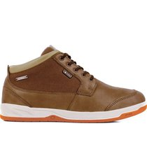 zapatilla impermeable casual key element cafe lippi