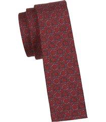 gancini wool-blend tie