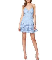women's bardot agnes lace party dress