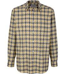 overhemd roger kent geel::olijf