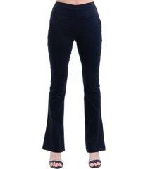 calça 101 resort wear alfaiataria cintura alta preta