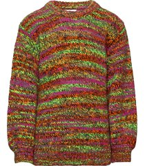 tempo wool kollina pullover multi/patroon mads nørgaard