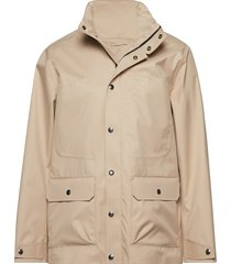 o1. tp the weather slicker dun jack beige gant