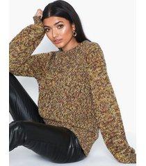 noisy may nmrobby l/s o-neck knit stickade tröjor