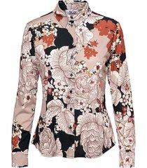 &co woman blouse lotte flower