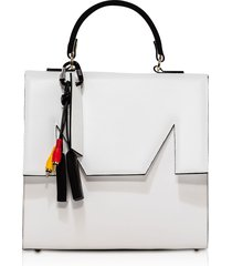msgm m top handle large satchel bag