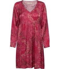 amélie dress kort klänning röd odd molly