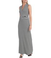 women's vince camuto stripe vibrations jersey maxi dress