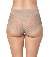 panty clasico beige leonisa 012903