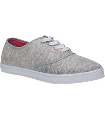 tenis gris north star riley mujer
