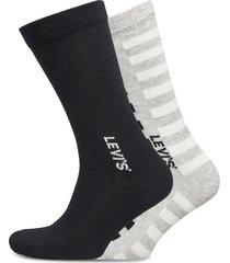 levis men regular cut spliced strip underwear socks regular socks svart levi´s