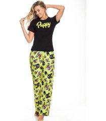 pijama conjunto familia dama santo corazón