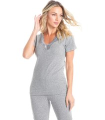 pijama legging manga curta alícia