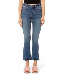 lola jeans high rise straight ankle denim