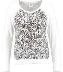 vero moda sweater pailletten snow white