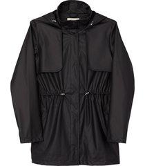 matt & nat alexis womens rain jacket, black