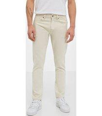 selected homme slhslimtape-toby 6214 white st jea jeans vit