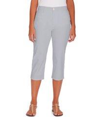 gloria vanderbilt women's amanda trouser capri, in regular & petite sizes