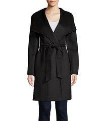 ellie belted wrap coat
