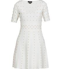 elisabetta franchi dress with studs