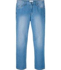 jeans in cotone biologico regular fit straight (blu) - john baner jeanswear