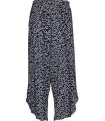 beach trousers ditsy beach wear blå lindex