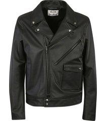 acne studios classic multi-zipped biker jacket