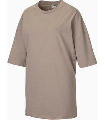 oversized dames-t-shirt/aucun, maat l | puma