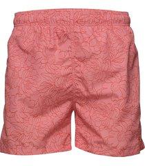 full bloom outline swim shorts c.f. badshorts rosa gant