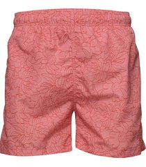 full bloom outline swim shorts c.f. badshorts rosa gant