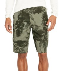 buffalo david bitton men's foliage cargo shorts