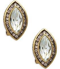 marquise stud earrings