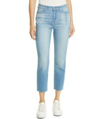 l'agence sada crop slim jeans, size 25 in ashford at nordstrom