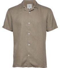 emanuel overhemd met korte mouwen groen minimum