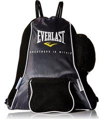 bolso everlast porta guantes-negro/gris