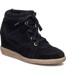 vibe shoes boots ankle boots ankle boots with heel svart pavement